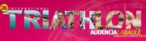 Triathlon Audencia 2013 - 26 ème édition